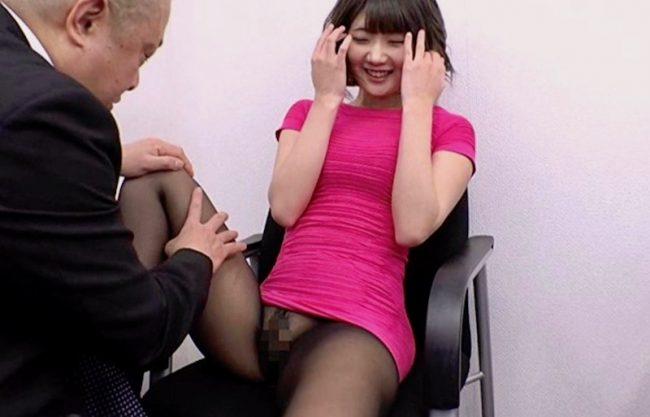 〔川村まや〕痴漢される美人女子アナ!上司のご機嫌取りで肉棒にしゃぶりつくwオマンコで精子を絞り出しw