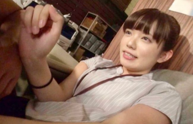 「はずかしいですよぉ〜」初めてのエッチ撮影でドキドキ涙目のお姉さん!激カワ美少女がついにデビュー!