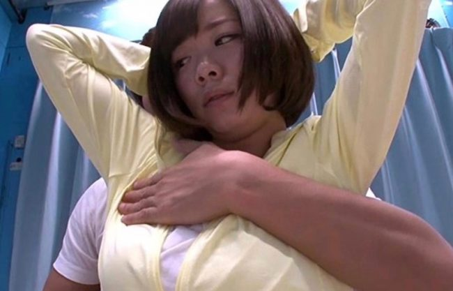 【MM号】「え?ちょっとおかしいよぉ」お姉さんがマッサージからエッチなイタズラされて寝取られる!