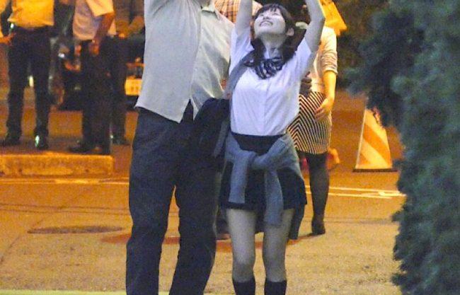 〔JK×円光〕激カワ美少女が中年親父とセックス!寝取られ感じるロリ娘がハメ撮りされる姿を激写wエッチなアルバイトを激写