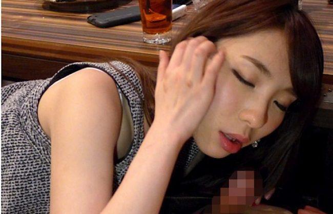 【泥酔×ギャル】酔うほど性欲が高まる清楚系ギャル♡エッチしたすぎて泥酔ビッチがご奉仕フェラからの変態中出しセックス!